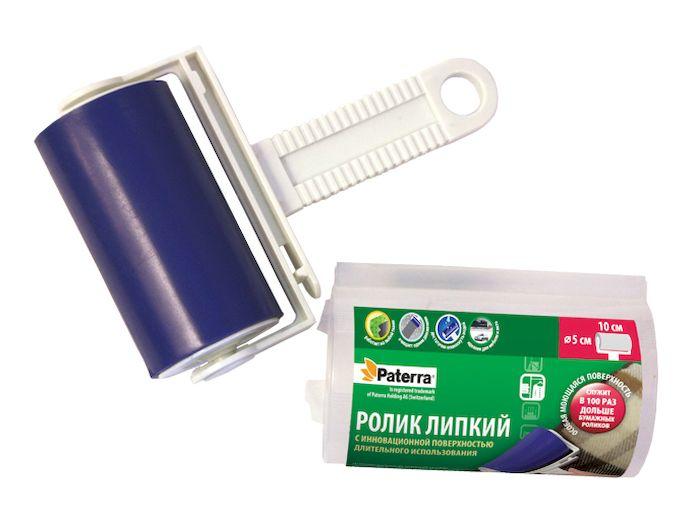 Ролик для чистки мебели и одежды Paterra блок сменный paterra к ролику для чистки одежды цвет белый 24 листа