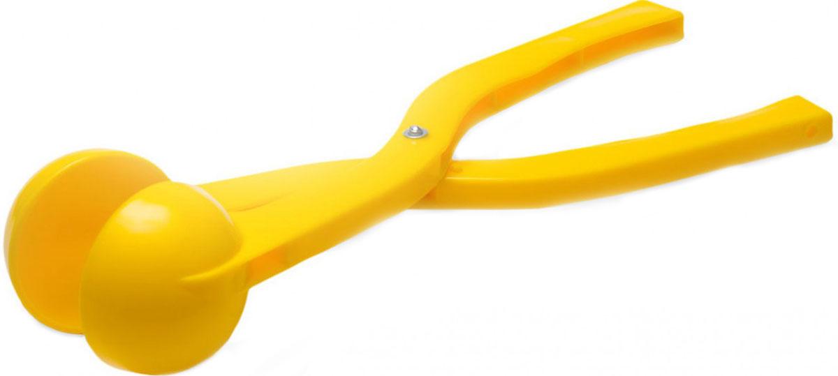 Снежкодел Снежколеп цвет желтый 36 см игрушка для лепки снежков staleks crystal синяя снежколеп снежкодел