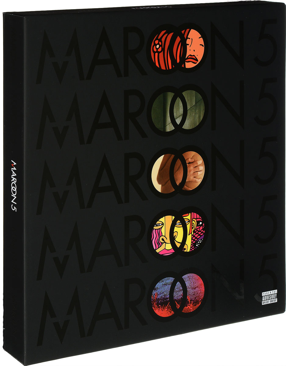 Maroon 5 5. The Studio Albums (5 LP)