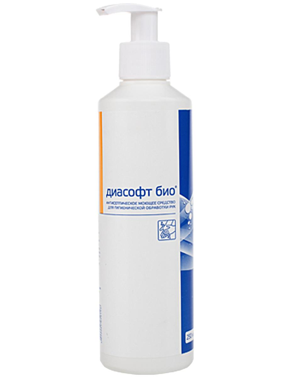 Антибактериальное жидкое мыло Диасофт био, 250 мл