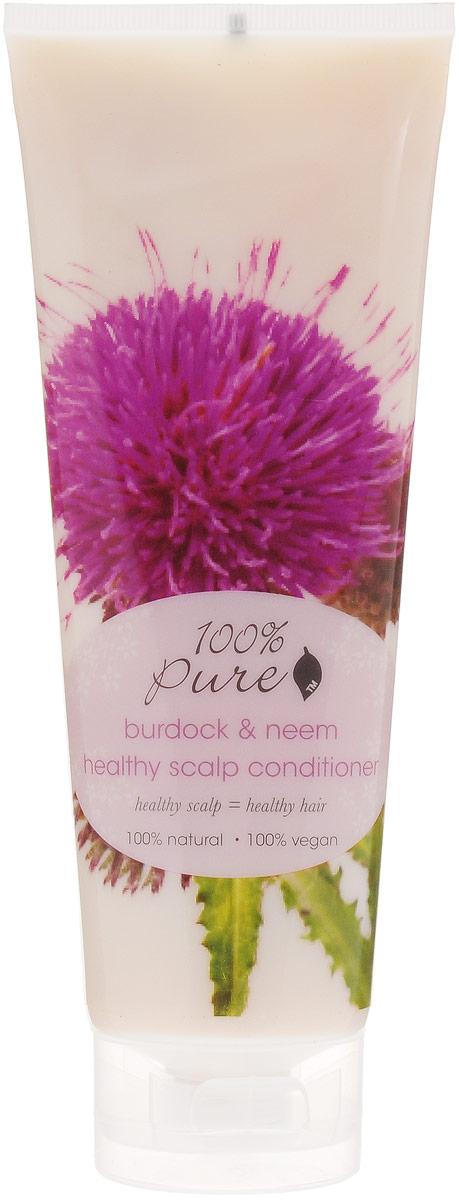 100% Pure Кондиционер для оздоровления кожи головы Репейник Ним, 236 мл