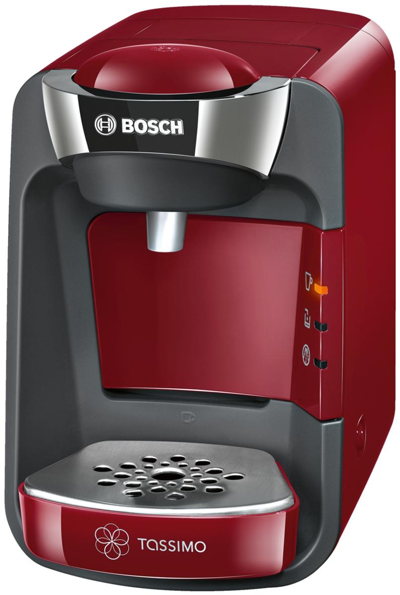 Кофеварка Bosch TAS3203, Red цена