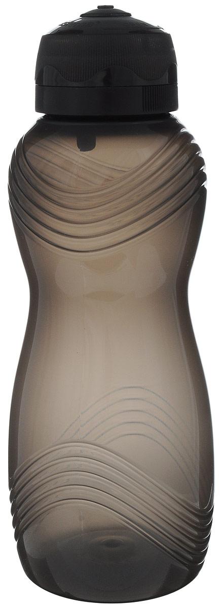 Бутылка для воды Sistema Hydrate, цвет: черный, 600 мл sistema бутылка для воды hydrate 620 мл 6 7х22 5 см 795 sistema