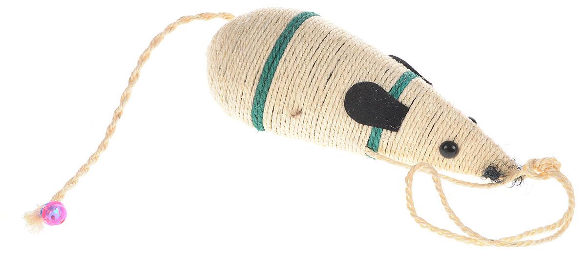 цена на Когтеточка Triol Мышь, цвет: в ассортименте, длина 30,5 см
