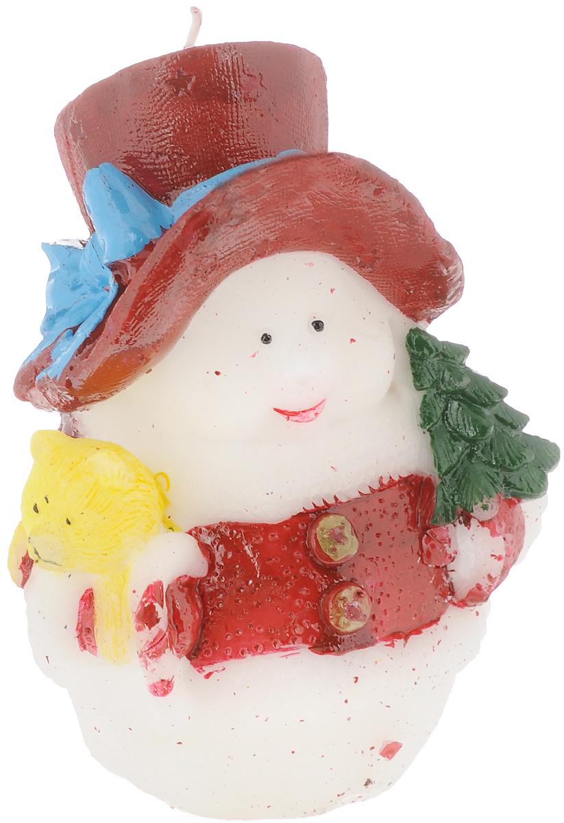 Свеча декоративная House & Holder Снеговик, высота 11 см. 10PC001 teak house свеча twine 10 wood