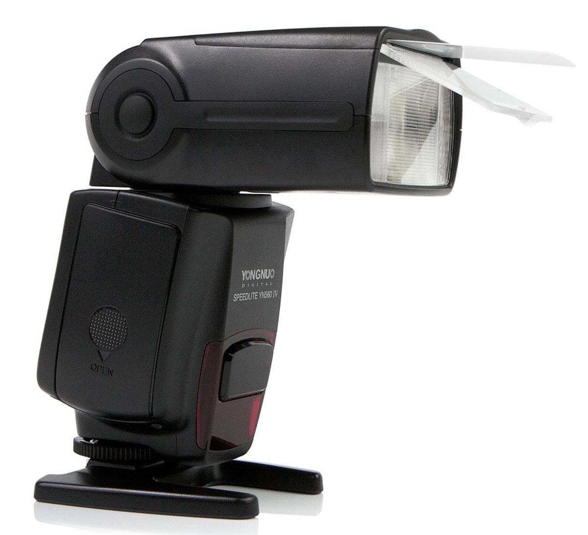Вспышка YongNuo Speedlite YN-560IV со встроенным радиосинхронизатором для Canon, Nikon, Pentax, Olympus, Sony стоимость