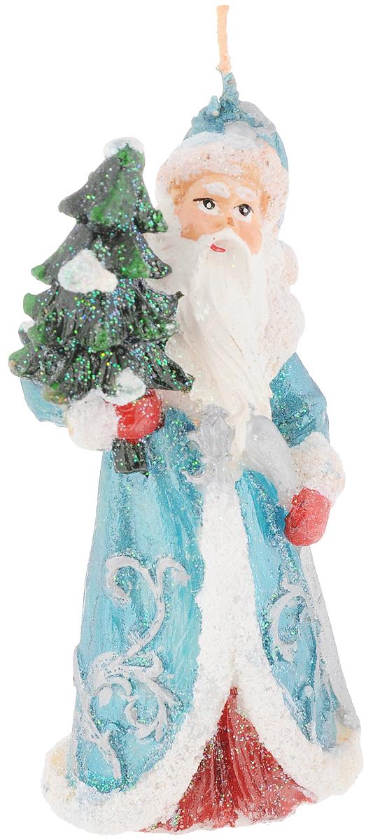 Свеча декоративная House & Holder Дед Мороз, высота 12 см, цвет в ассортименте teak house свеча twine 10 wood