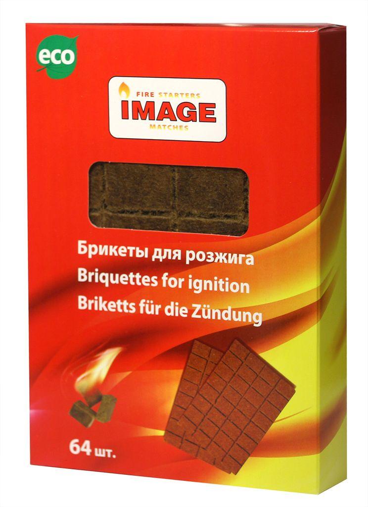 Брикеты для розжига Image, 64 шт брикеты для розжига грилькофф 64 шт