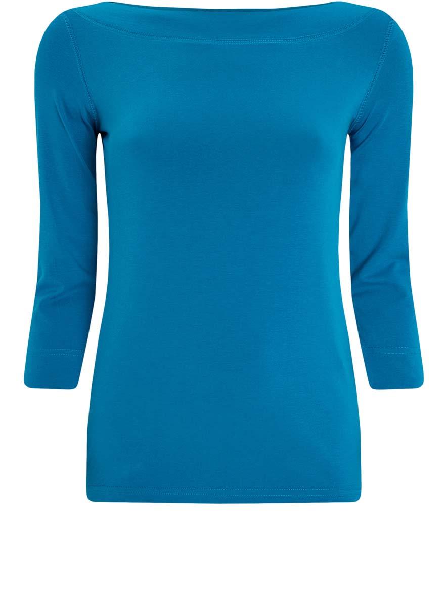 Лонгслив oodji Collection лонгслив женский oodji collection цвет бледно голубой хаки 24201010 3 46147 1267s размер xs 42