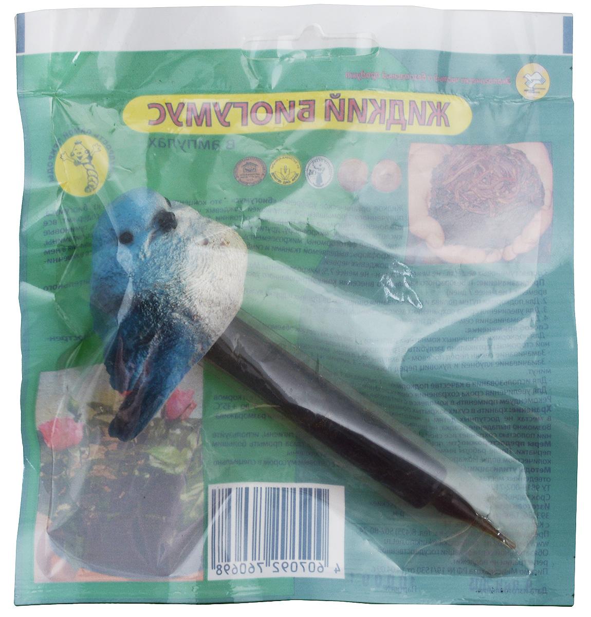 Удобрение Поля Русские Биогумус, в ампулах, цвет: голубой, 10 мл удобрение florizel гелеобразное органическое биогумус для роз 350мл