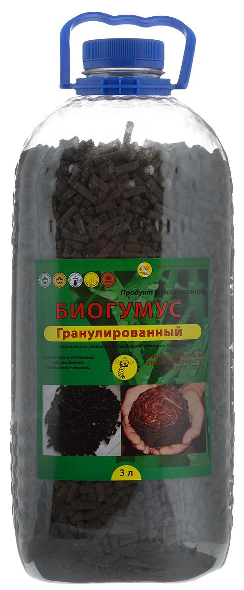 Удобрение Поля Русские Биогумус, гранулированное, 3 л удобрение florizel гелеобразное органическое биогумус для роз 350мл