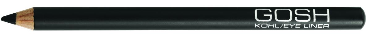 Gosh, Карандаш для глаз Kohl, 1,1 г, черный gosh карандаш для глаз kohl 1 1 г черный