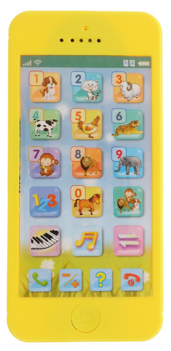 Mommy Love Развивающая игрушка Телефончик цвет желтый развивающая игрушка mommy love веселое путешествие в ассортименте
