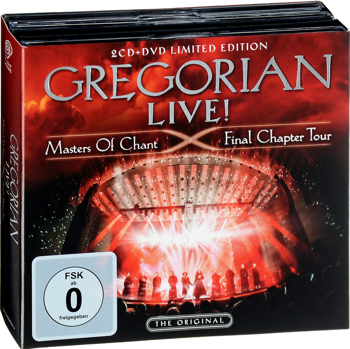 Gregorian Gregorian. Live! Masters Of Chant. Final Chapter Tour. Limited Edition (2 CD + DVD) цена