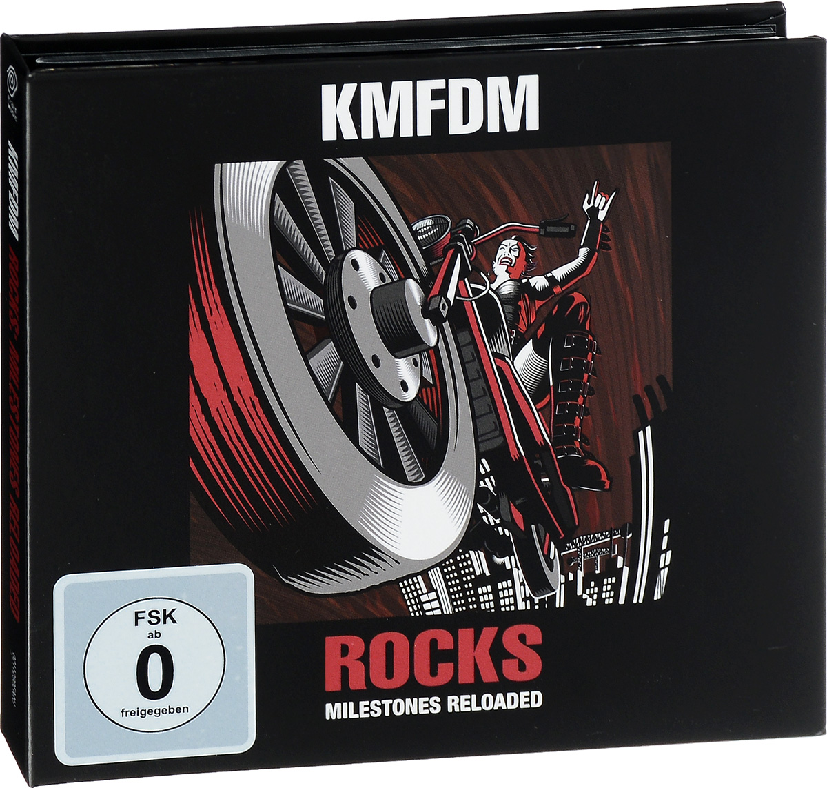 KMFDM KMFDM. Rocks. Milestones Reloaded (CD + DVD) цена