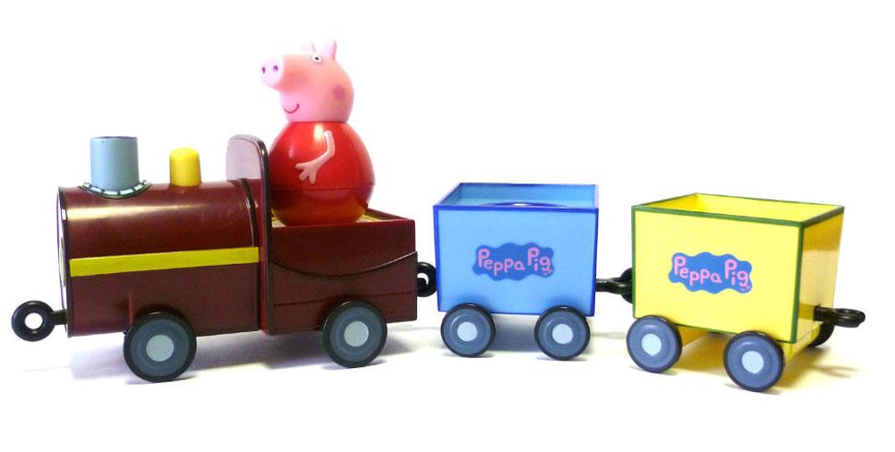 Peppa Pig Игровой набор Поезд Пеппы-неваляшки peppa pig игровой набор поезд пеппы неваляшки с фигуркой пеппы