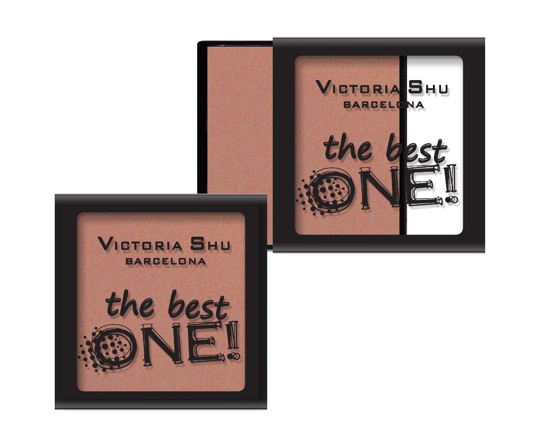 Victoria Shu Румяна The Best One №14, 2.3г румяна victoria shu the best one 14 цвет 14 пастельный variant hex name b97f73