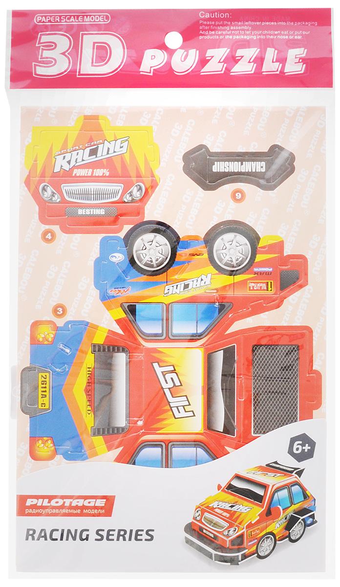 Pilotage 3D Пазл Racing Car Спортивная машина цвет красный
