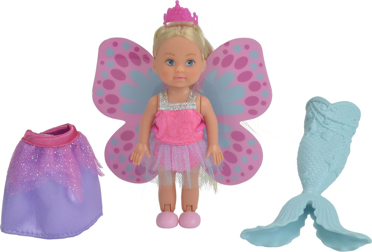 цена на Simba Мини-кукла Еви Русалочка Фея Принцесса