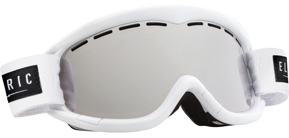 Очки горнолыжные Electric EG1K, оправа: Gloss White Bronze, линза: Silver Chrome линза для маски electric eg3 lens fw16 clear o s