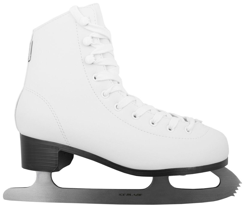 Коньки фигурные Ice Blade Todes, цвет: белый. УТ-00004985. Размер 43