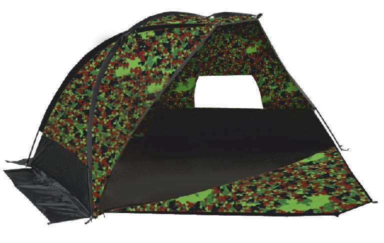 Палатка Talberg Forest Shelter, цвет: камуфляжный, 300 x 220 x 140 см