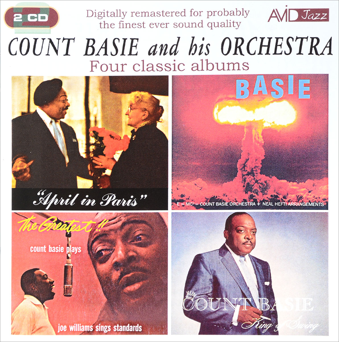 The Count Basie Orchestra,Каунт Бэйси Avid Jazz. Count Basie And His Orchestra. Four Classic Albums (2 CD) рэй чарльз the count basie orchestra ray charles ray sings basie swings