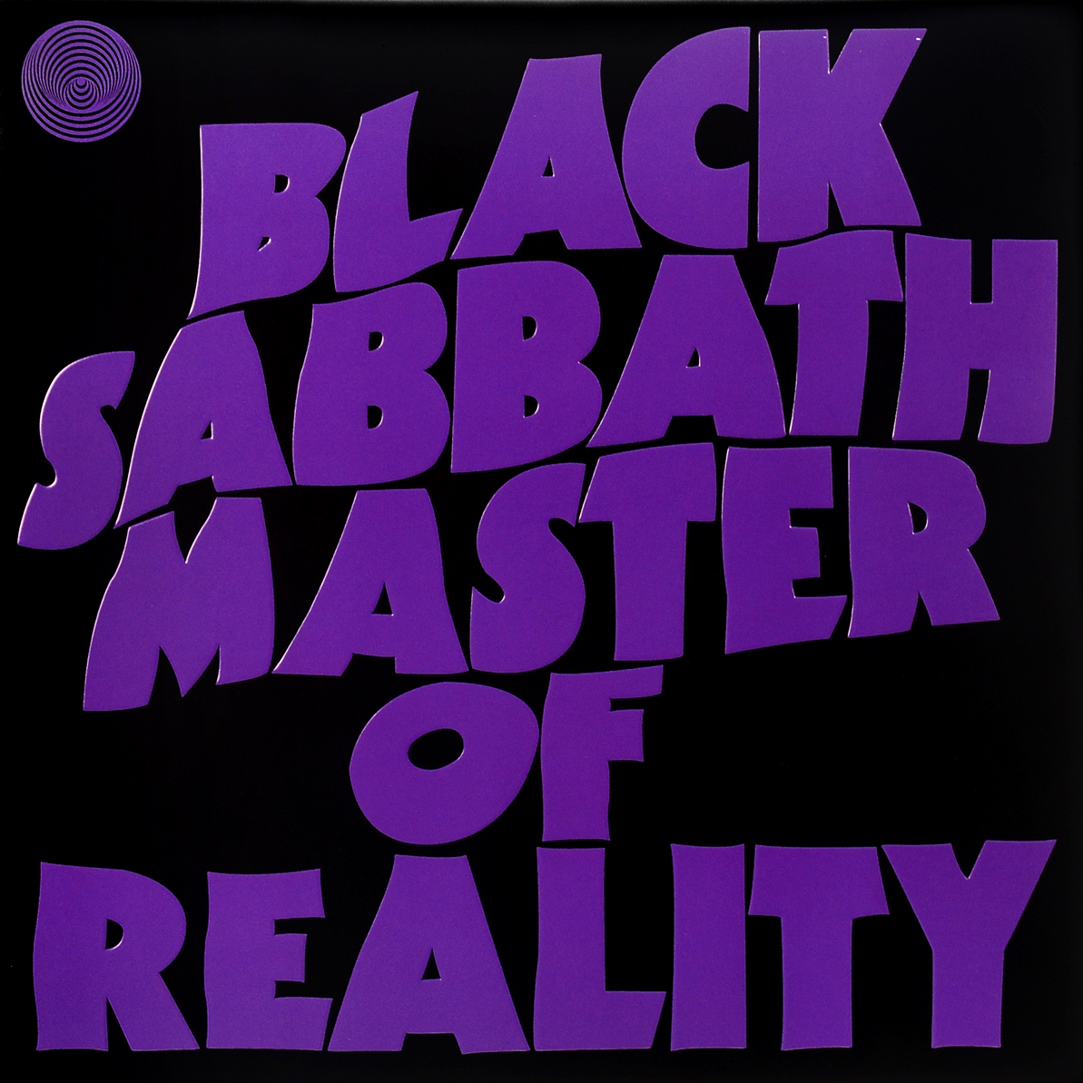 Black Sabbath Black Sabbath. Master Of Reality (LP) representing reality page 8
