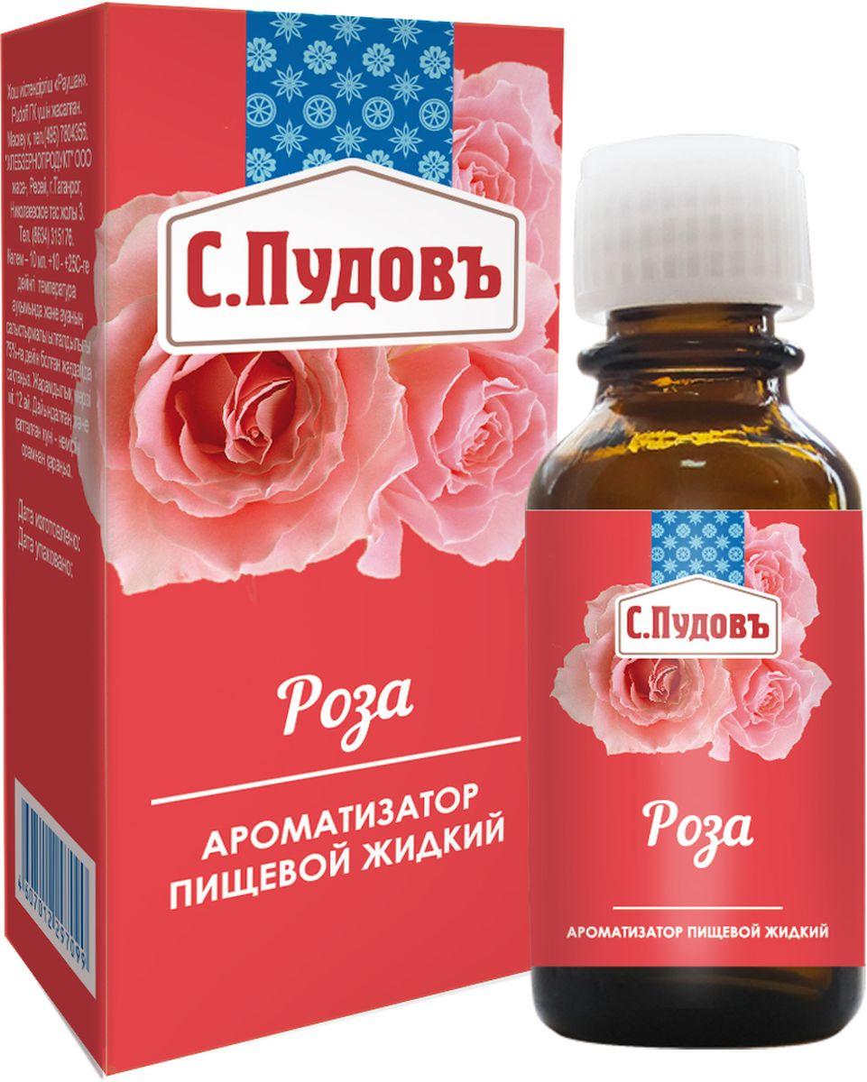 Пудовъ ароматизатор роза, 10 мл цены