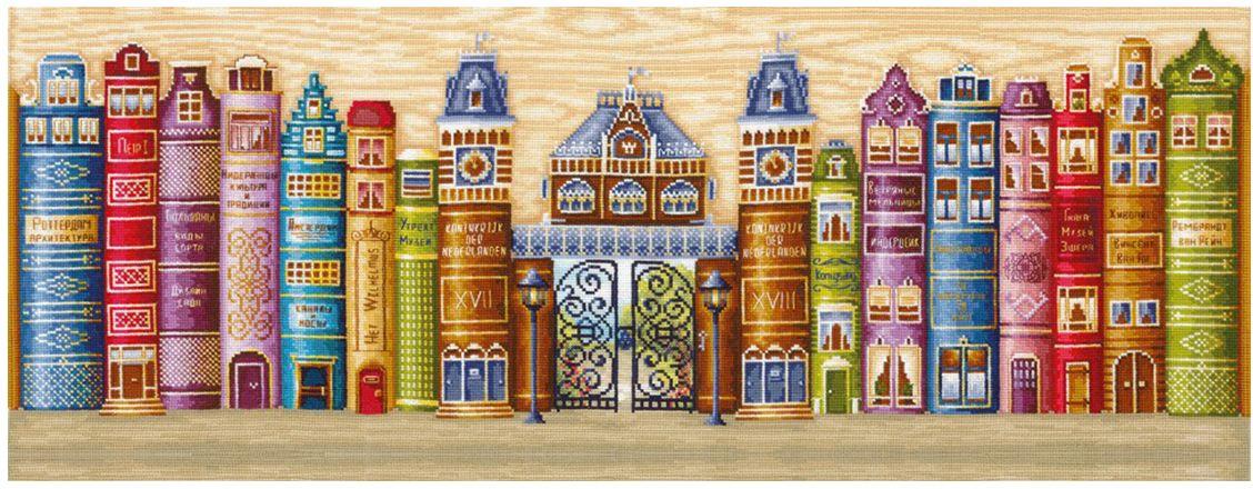 Набор для вышивания крестом Сделай своими руками Королевство книг, 77 х 28 см набор для вышивания крестом сделай своими руками пионы и розы 35 х 44 см