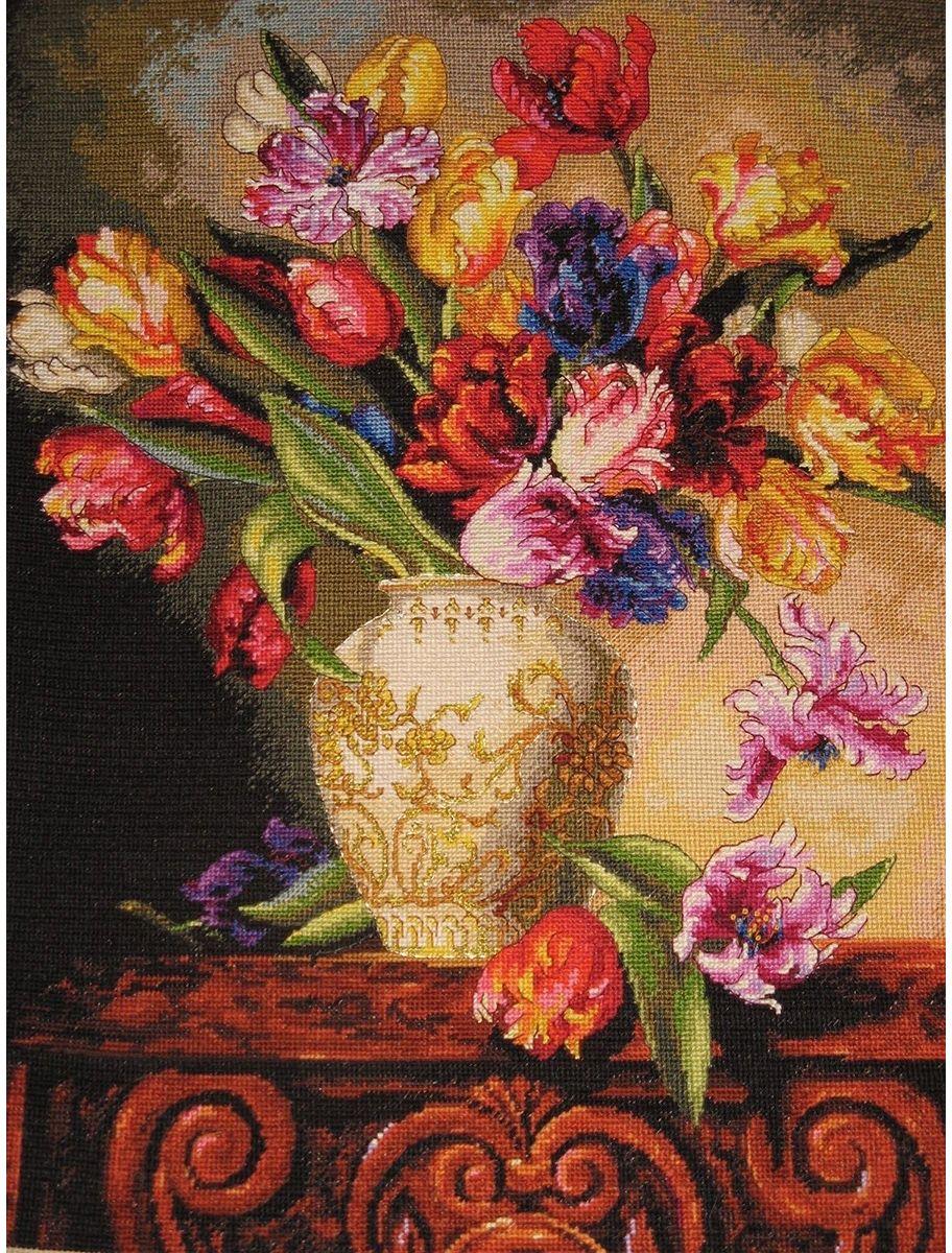 Набор для вышивания Dimensions Тюльпаны, 30,5 х 38 см 35138dms dimensions dimensions