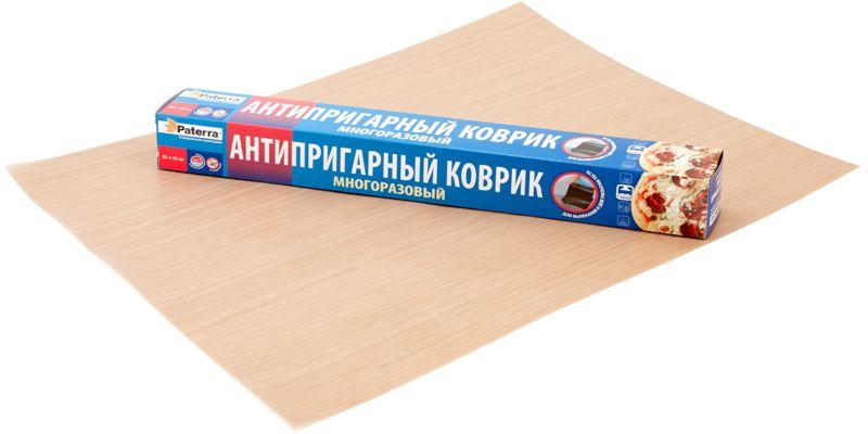 Коврик для выпечки Paterra, антипригарный, 33 х 40 см Уцененный товар (№12)