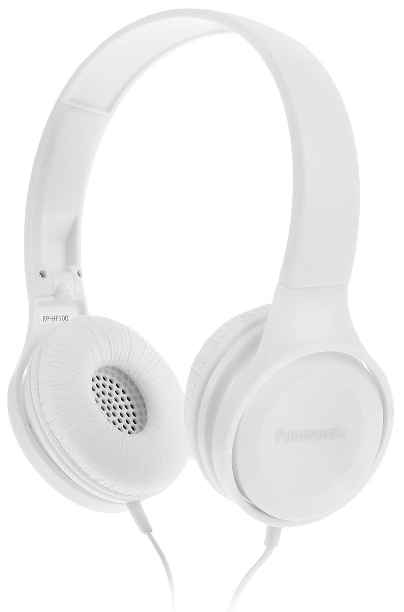 Panasonic RP-HF100GC-W, White наушники panasonic rp hf100gc w white