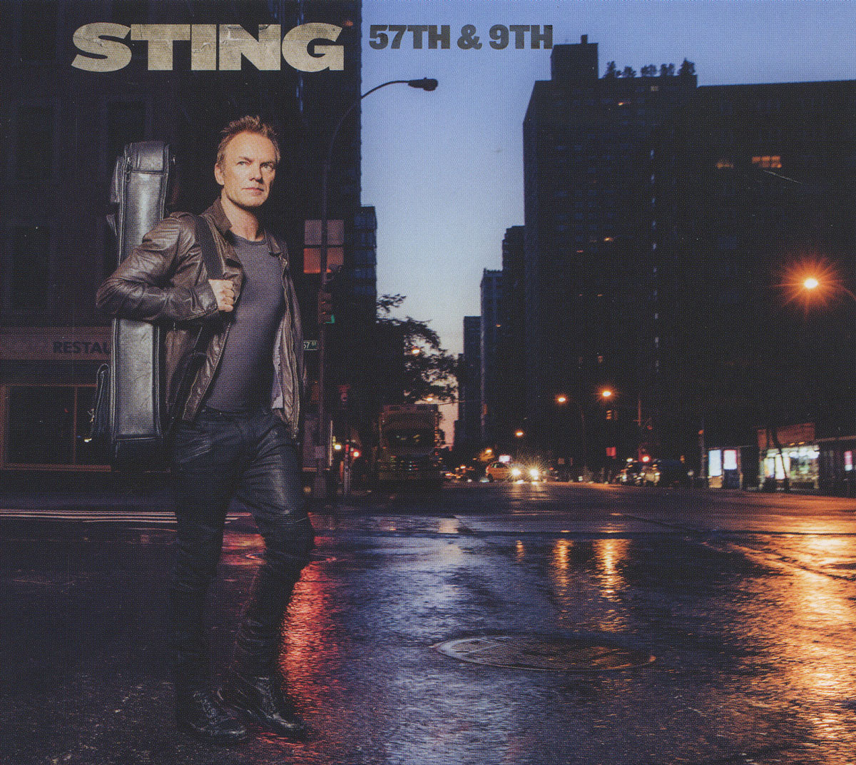 Стинг Sting. 57Th & 9Th стинг sting the soul cages