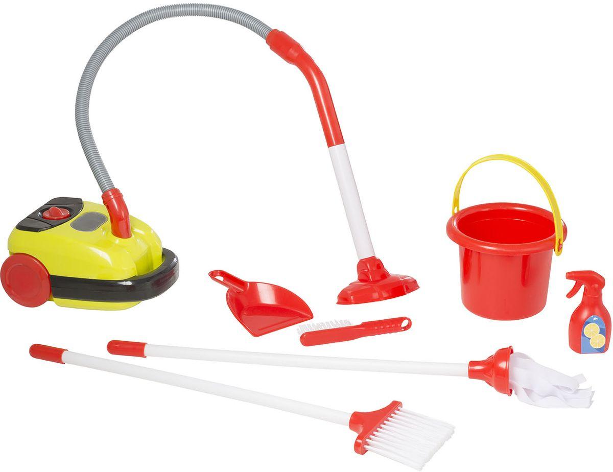 HTI Тележка для уборки с пылесосом Smart elc тележка для уборки