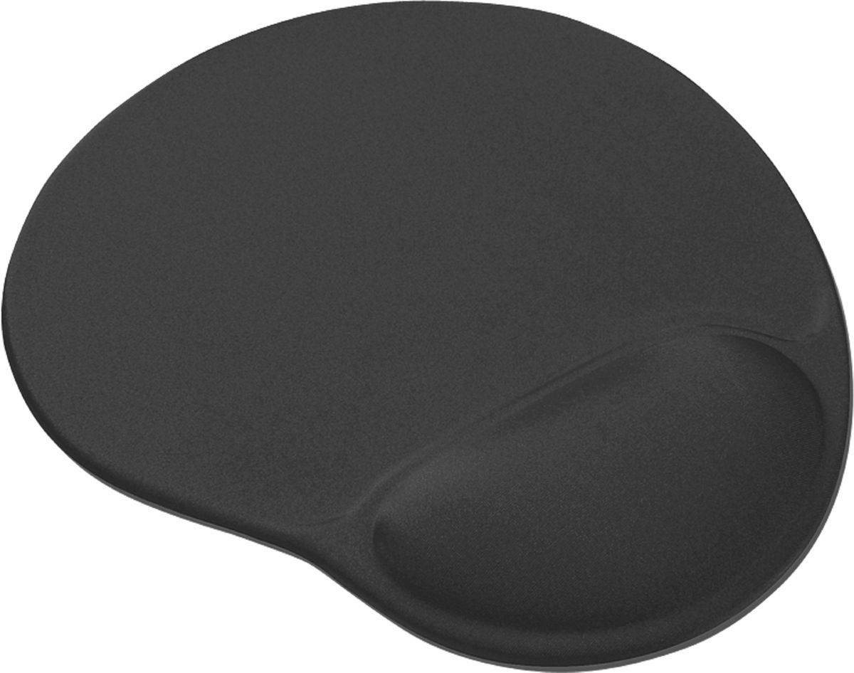 Коврик для мыши Trust Bigfoot Gel Mouse Pad, Black trust gxt 756 mouse pad xl black коврик для мыши