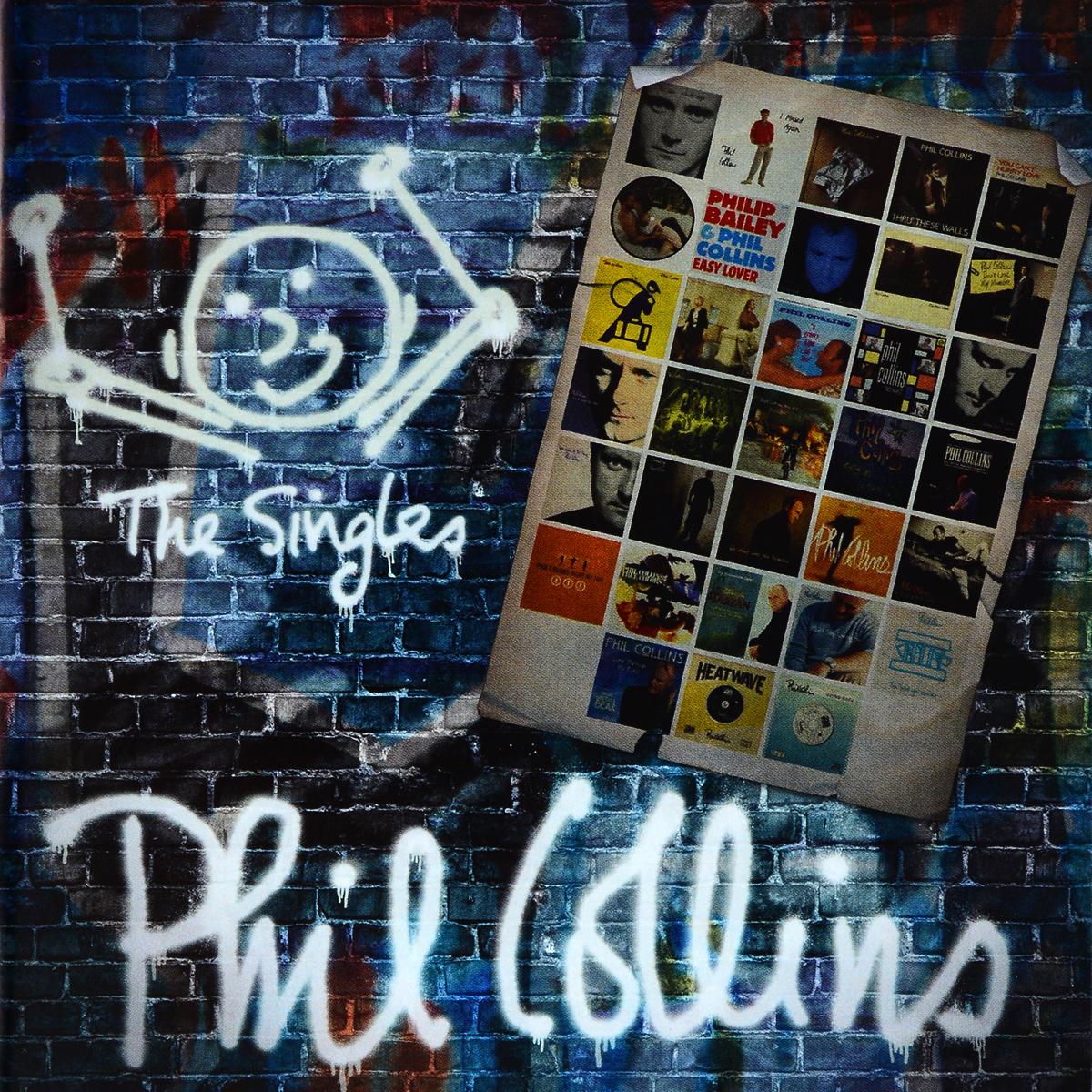 Phil Collins. The Singles (2 CD) phil collins phil collins the singles 2 lp