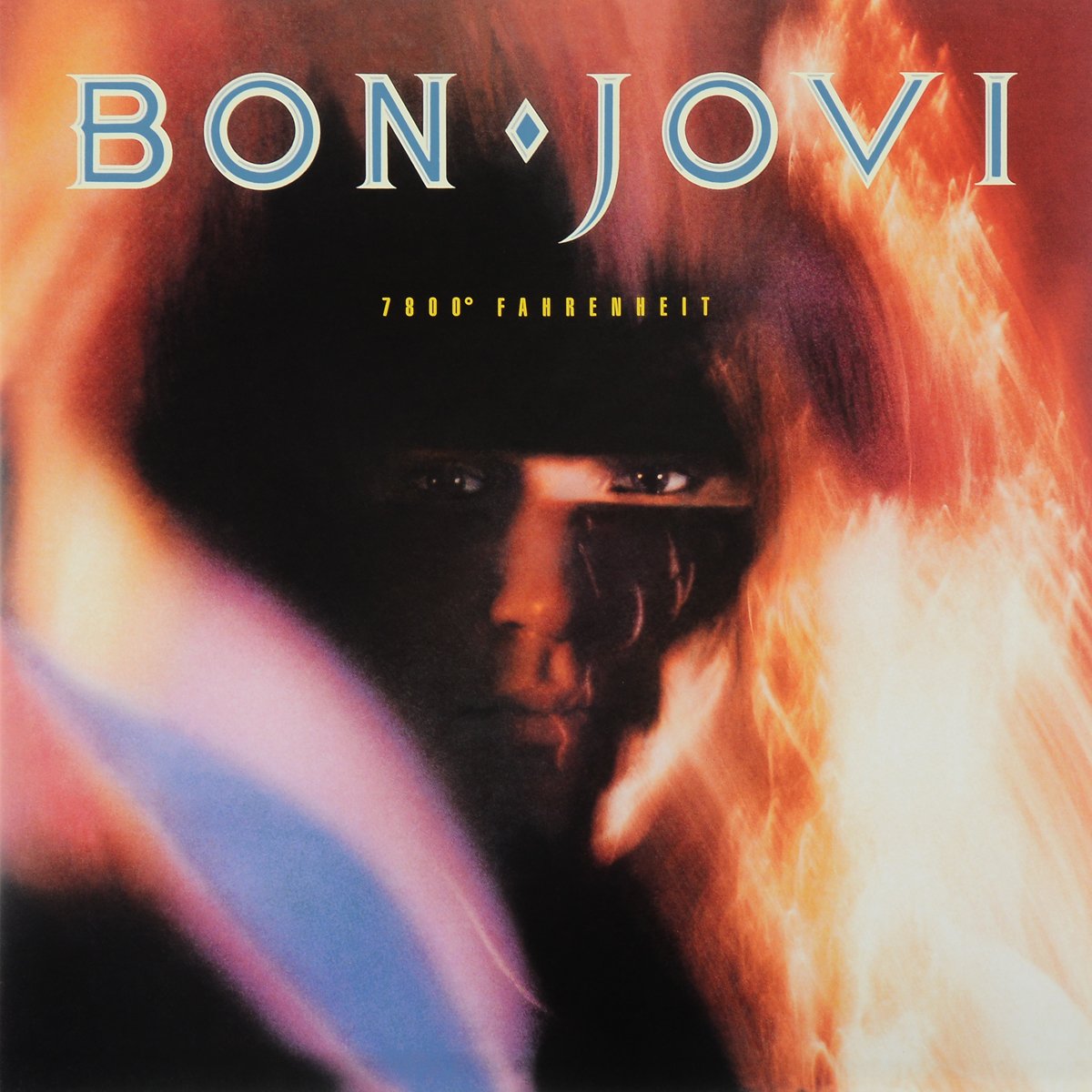 Bon Jovi Bon Jovi. 7800° Fahrenheit (LP) bon jovi crush 2 lp