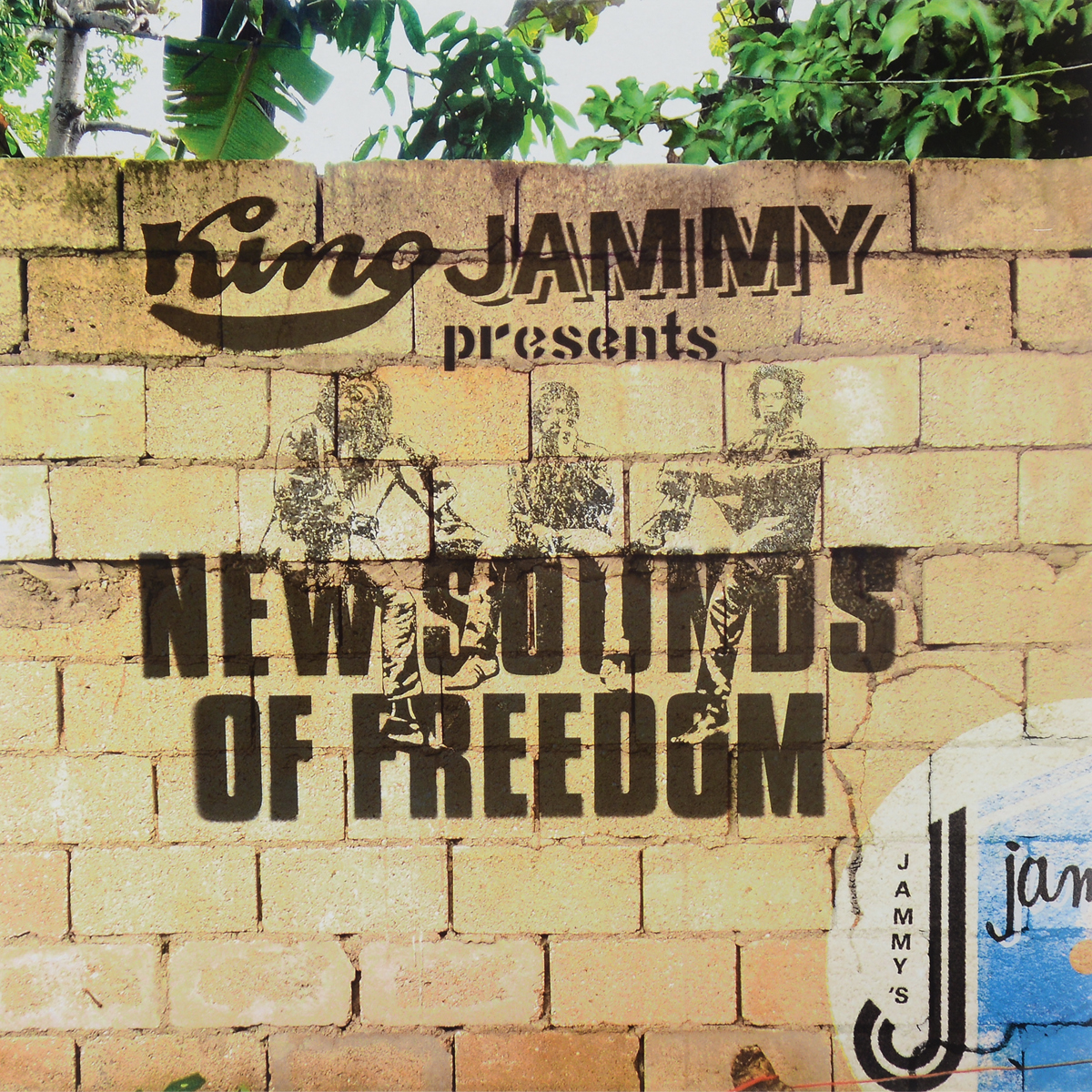King Jammy Presents New Sounds Of Freedom (LP) freedom freedom black on white lp
