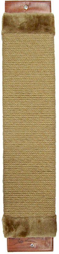 Когтеточка Неженка джутовая, с кошачьей мятой, 68 х 15 х 4 см. 7102 когтеточка стойка molly coddle неженка лапа малая коврово джутовая 58 см