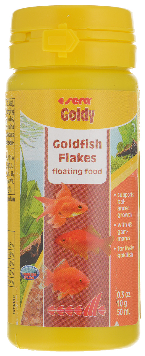 Корм для золотых рыбок Sera