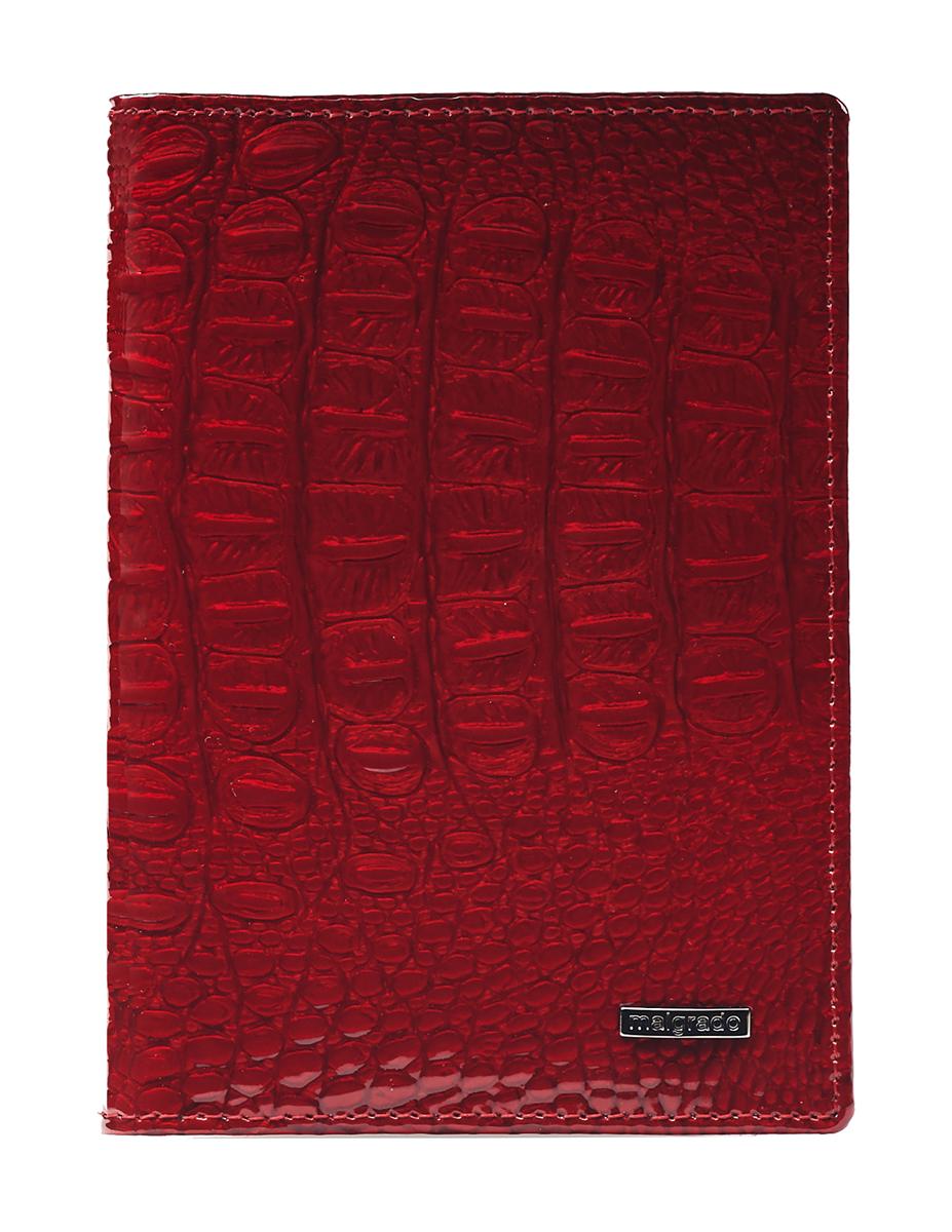 Обложка для паспорта женская Malgrado, цвет: красный. 54019-01701 обложка для паспорта malgrado цвет красный 54019 1 44