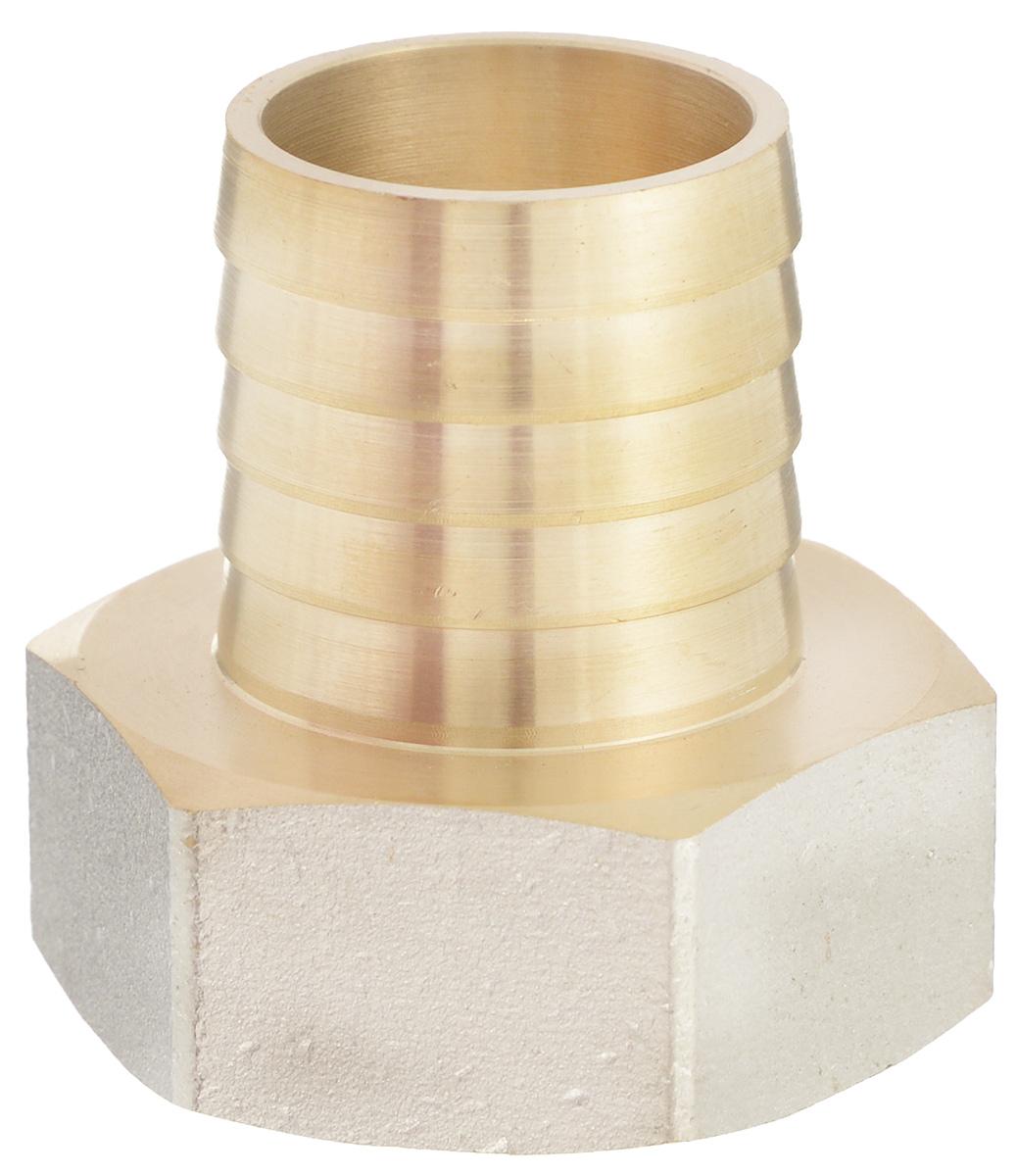 Переходник U-Tec, для резинового шланга, внутренняя резьба 1 х 25 мм u tec 34203