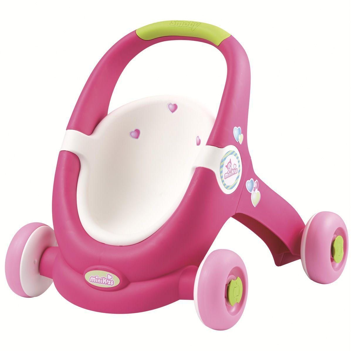 ходунки Smoby Ходунки-коляска для кукол
