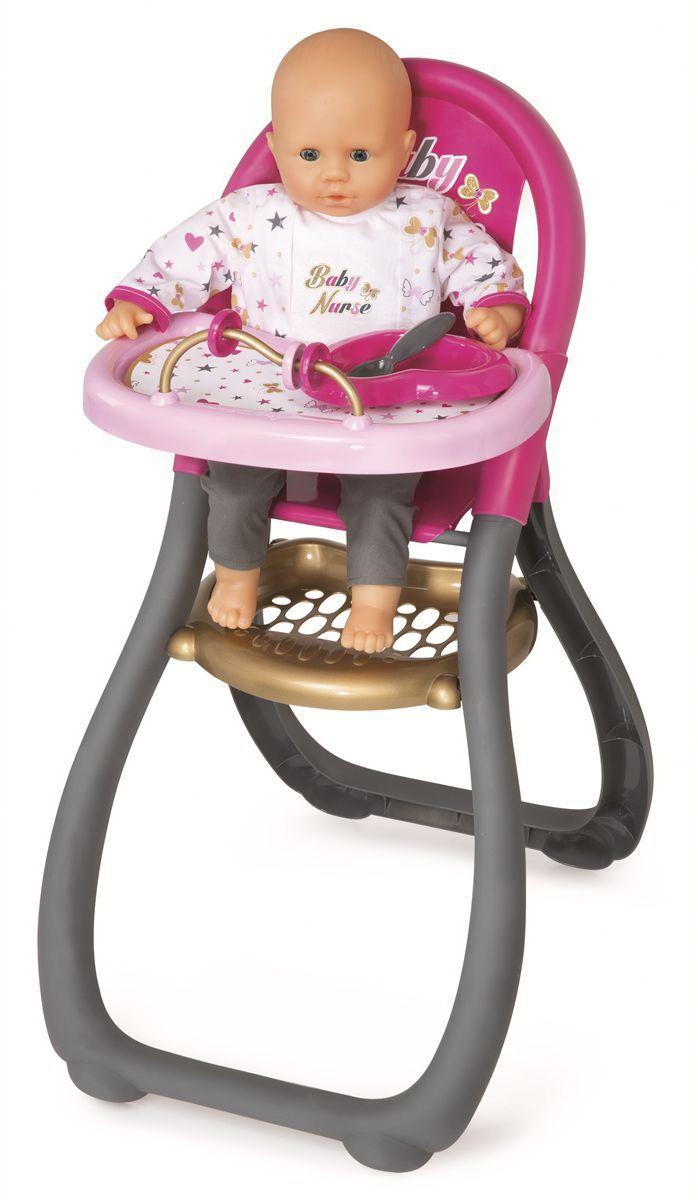 Smoby Мебель для кукол Стульчик для кормления Ваby Nurse