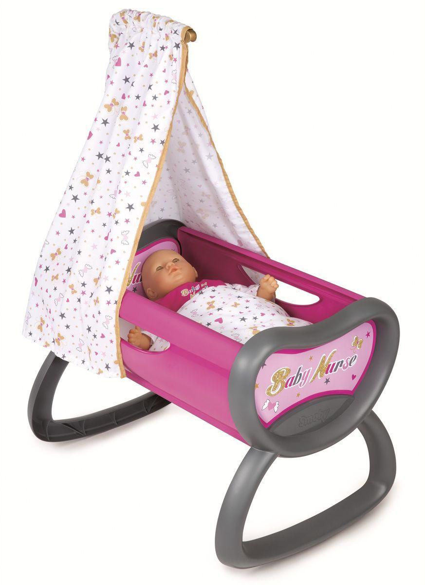 цена Smoby Мебель для кукол Колыбель Baby Nurse в интернет-магазинах
