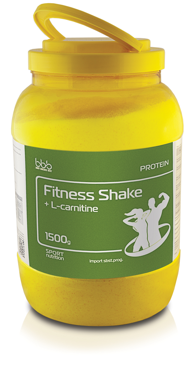 "Протеин bbb ""Fitness Shake + l-carnitine"", ваниль, 1,5 кг"