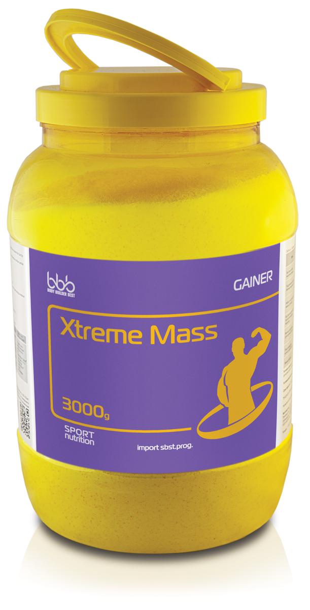 Гейнер bbb Xtreme Mass Gainer, шоколад, 3 кг