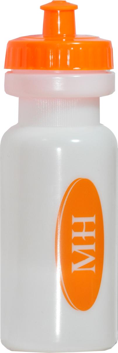 Шейкер Muscle Hit, цвет: белый, оранжевый, 500 мл цена