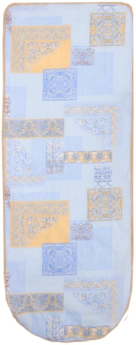 Чехол для гладильной доски Eva, цвет в ассортименте, 119 х 37 см чехол для гладильной доски eva с поролоном цвет бежевый синий бордовый 119 х 37 см